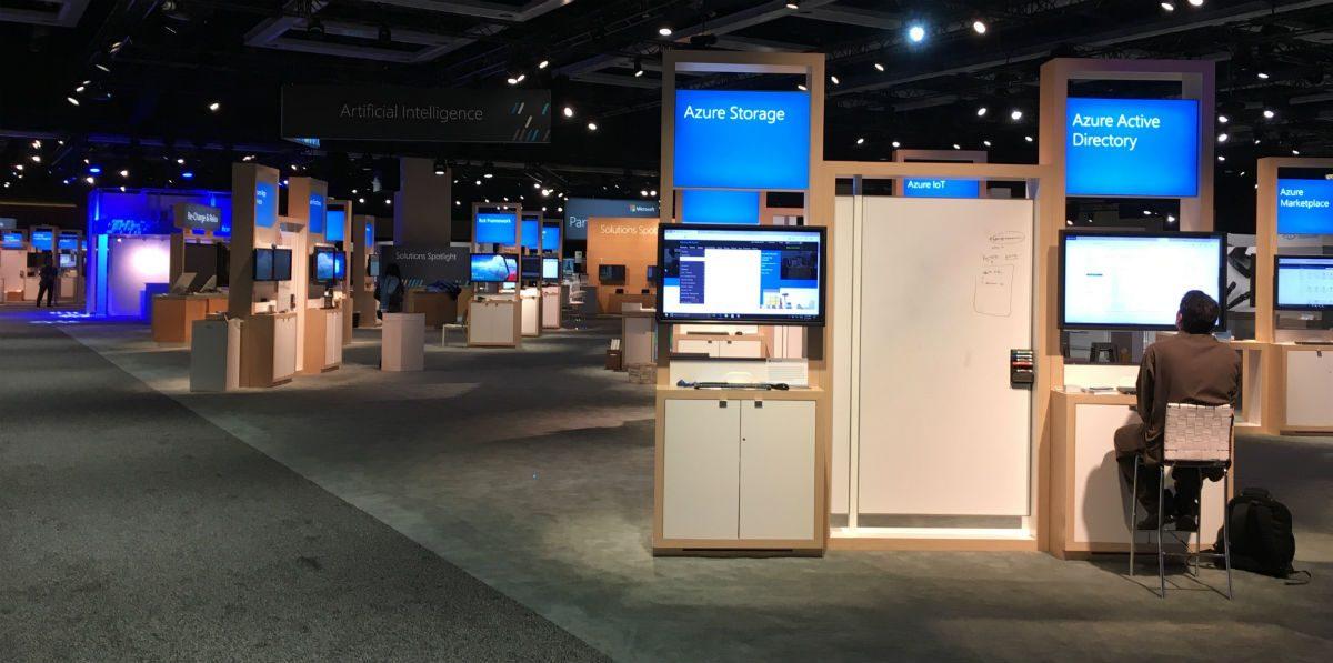 Expo hub at Build 2017