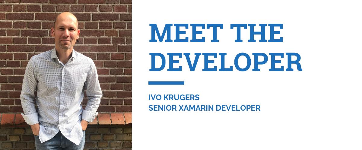 Meet Ivo Krugers Xamarin developer